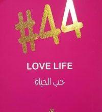 صورة تحمل كتاب ٤٤ حب الحياة pdf – علا ديوب