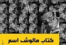 تحميل كتاب مالوش اسم pdf – أحمد العسيلى