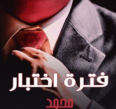 تحميل رواية فترة اختبار pdf – محمد حياه
