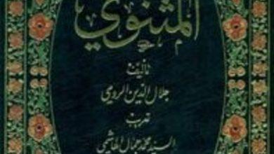 تحميل كتاب حكايات وعبر من المثنوي pdf – جلال الدين الرومي