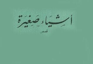 كتاب أشياء صغيرة – سميرة عزام